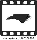 vector map of north carolina | Shutterstock .eps vector #1188538702