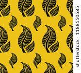 vector seamless floral pattern... | Shutterstock .eps vector #1188550585