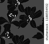 beautiful seamless floral... | Shutterstock .eps vector #1188554932
