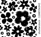 seamless pattern with flowers.... | Shutterstock .eps vector #1188556342