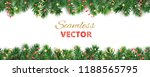 seamless vector decoration... | Shutterstock .eps vector #1188565795