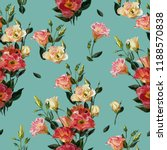 seamless floral pattern in... | Shutterstock . vector #1188570838