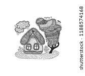 beautiful house vector... | Shutterstock .eps vector #1188574168