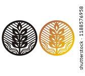 wheat. vector illustration | Shutterstock .eps vector #1188576958