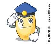police cedar nut on cartoon...   Shutterstock .eps vector #1188586882