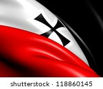 flag of german empire. close up. | Shutterstock . vector #118860145