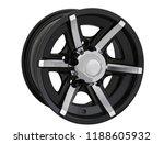 alloy wheel or rim or wheel of... | Shutterstock . vector #1188605932