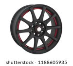 alloy wheel or rim or wheel of... | Shutterstock . vector #1188605935