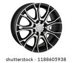 alloy wheel or rim or wheel of... | Shutterstock . vector #1188605938