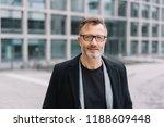 portrait of mature bearded man... | Shutterstock . vector #1188609448