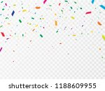 celebration background template ... | Shutterstock .eps vector #1188609955