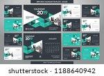 desk calendar 2019 template  ... | Shutterstock .eps vector #1188640942