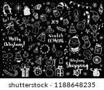 big set of christmas design... | Shutterstock .eps vector #1188648235