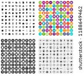 100 business school icons set... | Shutterstock . vector #1188649462