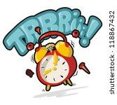 alarm clock   Shutterstock .eps vector #118867432