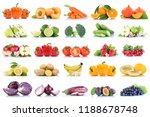 fruits and vegetables... | Shutterstock . vector #1188678748