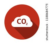 co2 vector icon | Shutterstock .eps vector #1188684775