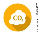 co2 vector icon | Shutterstock .eps vector #1188684778