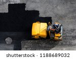 aerial view of asphalting... | Shutterstock . vector #1188689032