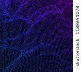 digital landscape with... | Shutterstock .eps vector #1188691078
