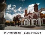 center of the city of potosi ... | Shutterstock . vector #1188695395