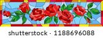 illustration in stained glass... | Shutterstock .eps vector #1188696088