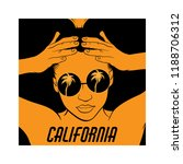 california. vector hand drawn...   Shutterstock .eps vector #1188706312