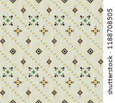 geometric embroidery style.... | Shutterstock .eps vector #1188708505