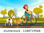 vector cartoon illustration of... | Shutterstock .eps vector #1188719068