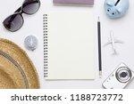 top view of traveler... | Shutterstock . vector #1188723772