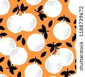 orange fruits exquisite  cute ... | Shutterstock .eps vector #1188739672