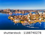 rich blue waters of sydney... | Shutterstock . vector #1188740278