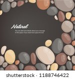 modern style close up round... | Shutterstock .eps vector #1188746422