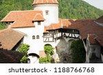 bran  transylvania region ... | Shutterstock . vector #1188766768