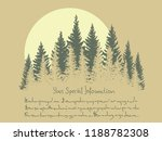 horizontal vector card with... | Shutterstock .eps vector #1188782308