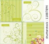 floral background   vector...   Shutterstock .eps vector #11887894