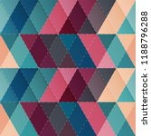 cloth triangle seamless pattern | Shutterstock .eps vector #1188796288