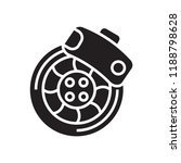 disc brake icon vector isolated ... | Shutterstock .eps vector #1188798628