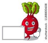 with board cartoon fresh... | Shutterstock .eps vector #1188800608