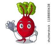 doctor cartoon fresh harvested... | Shutterstock .eps vector #1188800638