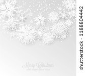 christmas party invitation... | Shutterstock .eps vector #1188804442
