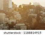 the sunset view from coit tower ... | Shutterstock . vector #1188814915