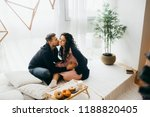 romantic married couple is... | Shutterstock . vector #1188820405