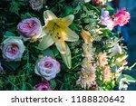 autdoor autumn floral decoration | Shutterstock . vector #1188820642