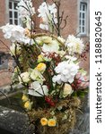 autdoor autumn floral decoration | Shutterstock . vector #1188820645