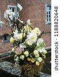 autdoor autumn floral decoration | Shutterstock . vector #1188820648
