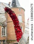 autdoor autumn floral decoration | Shutterstock . vector #1188820675