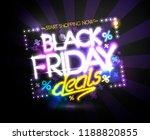 black friday deals  start... | Shutterstock . vector #1188820855