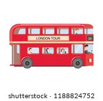 london attractions. united... | Shutterstock .eps vector #1188824752