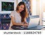 beautiful smart business... | Shutterstock . vector #1188824785